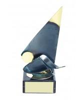 Toledo Sailing Handmade Metal Trophy