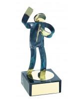 Toledo Singing Handmade Metal Trophy