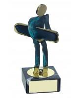 Toledo Snowboarding Handmade Metal Trophy