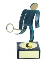 Toledo Squash Handmade Metal Trophy