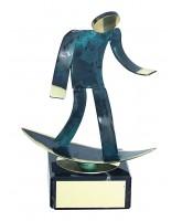 Toledo Surfing Handmade Metal Trophy
