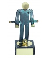 Toledo Table Football Handmade Metal Trophy