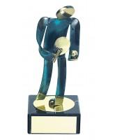 Toledo Table Tennis Handmade Metal Trophy