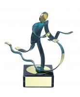 Toledo Triathlon Handmade Metal Trophy