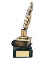 Tolstoy Literature Handmade Metal Trophy