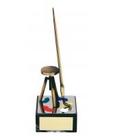 Turner Art Handmade Metal Trophy