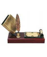 Twain Literature Handmade Metal Trophy