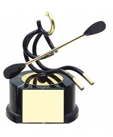 Valencia Canoeing Handmade Metal Trophy