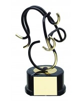Valencia Cycling Handmade Metal Trophy