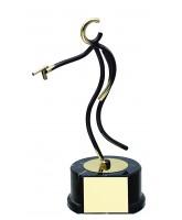 Valencia Pistol Shooting Handmade Metal Trophy