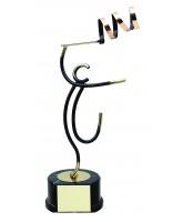 Valencia Rhythmic Gymnastics Handmade Metal Trophy