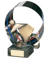 Veledrome Indoor Cycling Handmade Metal Trophy