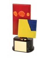 Warhol Art Handmade Metal Trophy