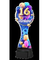 Birthday Custom Made Football Trophy
