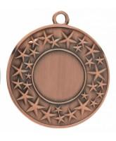 Cluster Star Logo Insert Bronze Medal