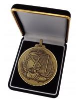 Deluxe Velour Medal Box Black 60mm