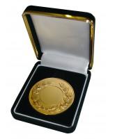 Deluxe Velour Medal Box Green 52mm