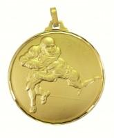 Diamond Edged American Football Gold Medal
