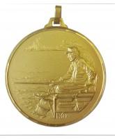 Diamond Edged Angling Fishing Gold Medal