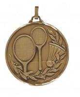 Diamond Edged Badminton Bronze Medal
