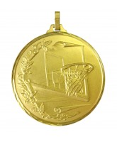 Diamond Edged Basketball Hoop Gold Medal