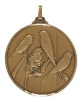 Diamond Edged Bird Fancier Bronze Medal