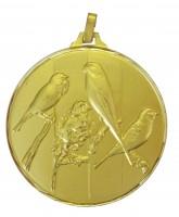 Diamond Edged Bird Fancier Gold Medal