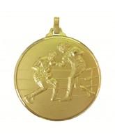 Diamond Edged Boxing Gold Medal