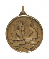 Diamond Edged Chess Bronze Medal