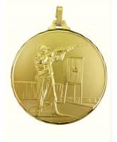 Diamond Edged Clay Pigeon Skeet Shooting Gold Medal