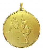 Diamond Edged Cricket Gold Medal