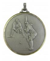 Diamond Edged Cricket Silver Medal
