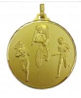 Diamond Edged Duathlon Gold Medal