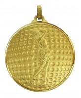 Diamond Edged Female Golf Ball Gold Medal