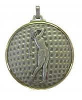 Diamond Edged Female Golf Ball Silver Medal