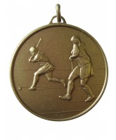 Diamond Edged Female Hockey Bronze Medal
