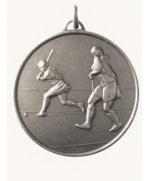 Diamond Edged Female Hockey Silver Medal