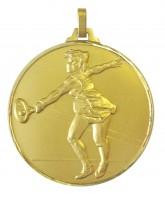 Diamond Edged Female Tennis Gold Medal