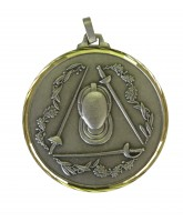Diamond Edged Fencing Silver Medal