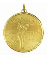 Diamond Edged Golf Gold Medal