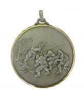 Diamond Edged Ice Hockey Silver Medal