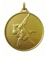 Diamond Edged Judo Dojo Gold Medal