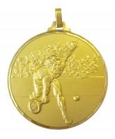Diamond Edged Male Tennis Gold Medal
