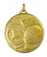 Diamond Edged Motor Racing Gold Medal