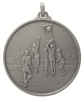 Diamond Edged Netball Silver Medal