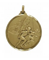 Diamond Edged Olympic Running Bronze Medal