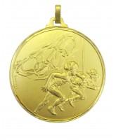 Diamond Edged Olympic Running Gold Medal