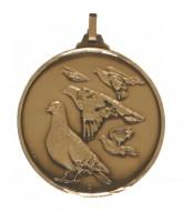 Diamond Edged Pigeon Racing Bronze Medal