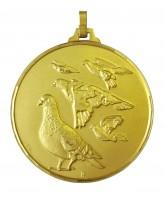 Diamond Edged Pigeon Racing Gold Medal