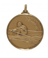 Diamond Edged Rowing Bronze Medal